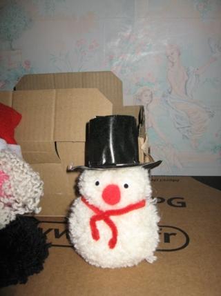 bonhomme de neige - Créations d'enfant - 10doigts.fr