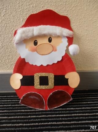 Père Noel - Créations d'enfant - 10doigts.fr