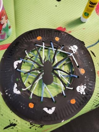 Activité Halloween - Créations d'enfant - 10doigts.fr