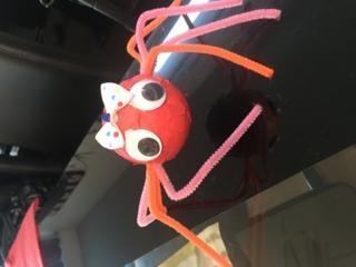 Jolie araignée - Créations d'enfant - 10doigts.fr