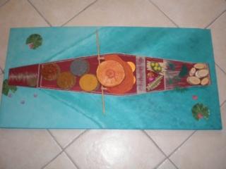 Barque hindou - Home Déco, Châssis - 10doigts.fr