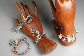 Bracelet de fils élastiques - Perles, bracelets, colliers - 10doigts.fr
