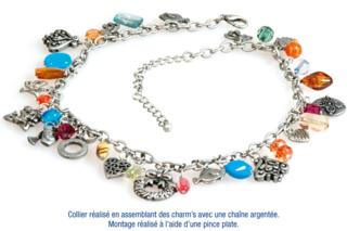 Bracelet ou collier en métal vieilli - Bijoux - 10doigts.fr