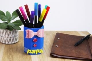 Pot à crayons PAPA - Fête des Pères - 10doigts.fr