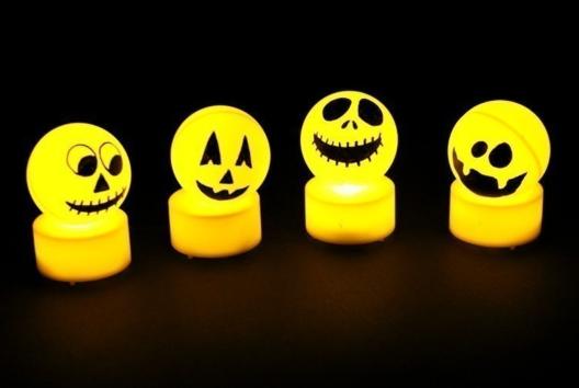 Monstres d'Halloween lumineux - Tutos Halloween - 10doigts.fr