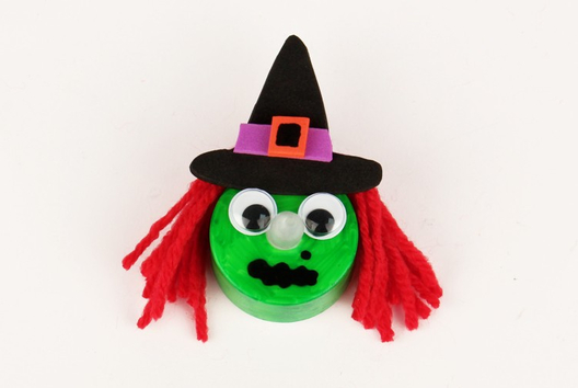 Sorcières scintillantes - Tutos Halloween - 10doigts.fr
