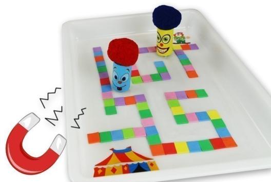 Labyrinthe magnétique - Jeux - 10doigts.fr