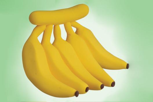 Bananes en pâte à modeler - Modelage - 10doigts.fr