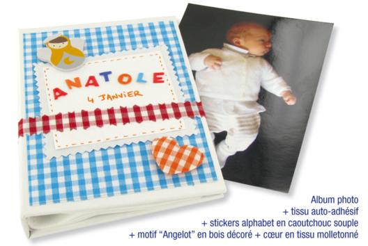 Album photo - Décoration d'objets - 10doigts.fr