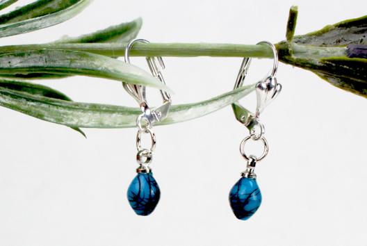 Boucles d'oreilles Turquoise - Tutos Fête des Mères - 10doigts.fr