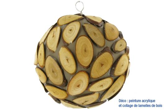 Boule nature - Je décore une boule - 10doigts.fr