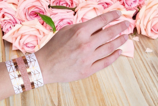 Bracelet Masking Tape - Tutos Fête des Mères - 10doigts.fr