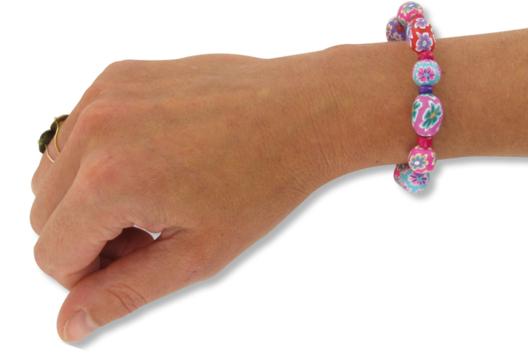 Bracelets fleuris - Tutos Fête des Mères - 10doigts.fr