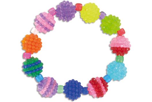 Bracelets graines de fruits - Tutos Fête des Mères - 10doigts.fr