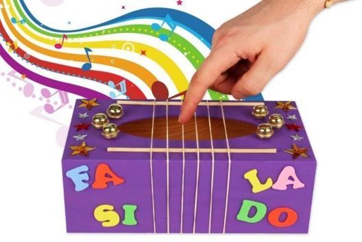 Boîte à musique - Eveil musical - 10doigts.fr
