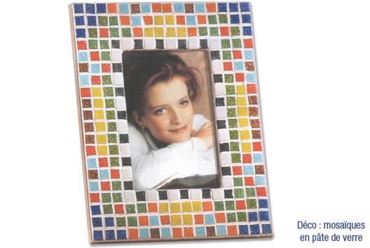 Cadre photo en bois avec vitre - Je décore un cadre - 10doigts.fr