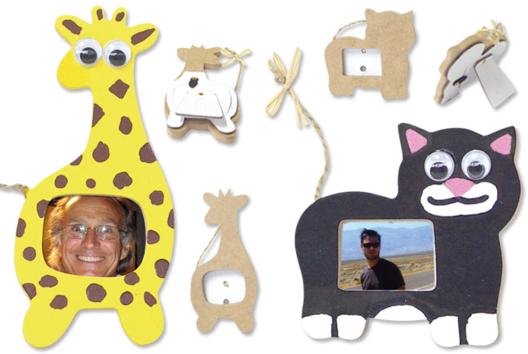Cadres animaux - Décoration d'objets - 10doigts.fr