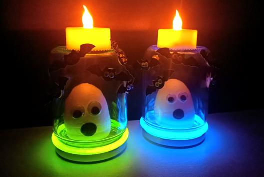 Cage à fantôme - Tutos Halloween - 10doigts.fr