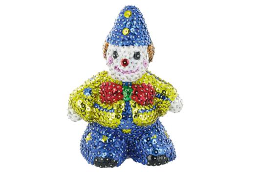 Clown à paillettes - Sequins - 10doigts.fr