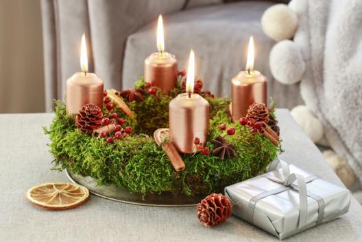 Centre de table de Noël - Je fais un calendrier de l'avent - 10doigts.fr
