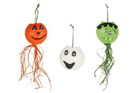Lampions Halloween - Tutos Halloween - 10doigts.fr