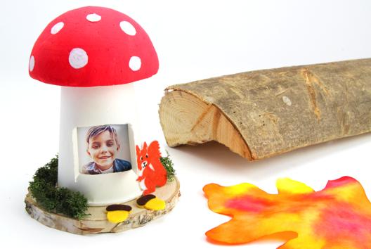 Maison champignon - Tutos Automne - 10doigts.fr