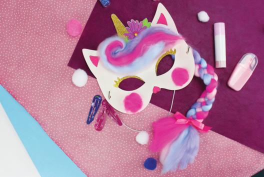 Masques Licorne - Tutos Carnaval - 10doigts.fr