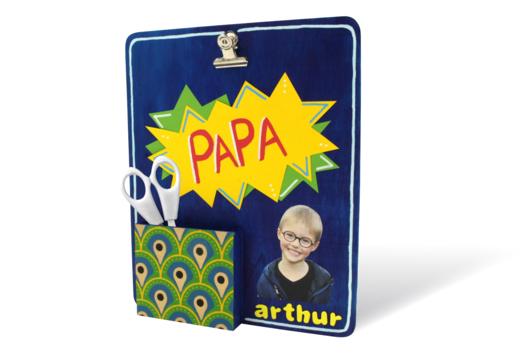 Organiseur de bureau pour Papa - Fête des Pères - 10doigts.fr