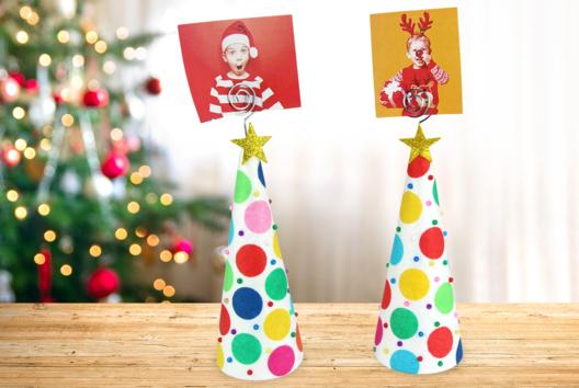 Sapin porte-photo - Tables de fêtes - 10doigts.fr