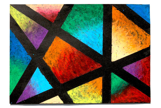 Dessiner avec les pastels à l'huile - Peinture - 10doigts.fr