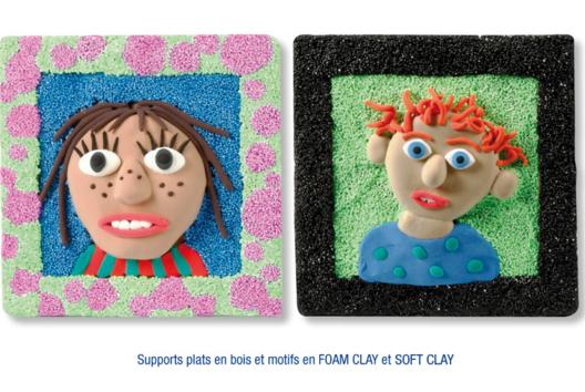Tableaux en pâtes à modeler SOFT et FOAM CLAY - Modelage - 10doigts.fr