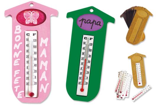 Thermomètre - Tutos Fête des Mères - 10doigts.fr