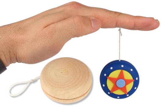 Yoyo en bois - Décoration d'objets - 10doigts.fr