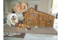 la petite maison dans la prairie - Modelage - 10doigts.fr