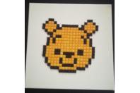 Pixel Art Winnie Disney - Mosaïques - 10doigts.fr