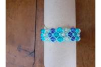 SHAMBALLA 3 RANGS - Perles, bracelets, colliers - 10doigts.fr