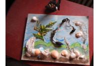 Souvenirs de plage - Créations d'enfant - 10doigts.fr