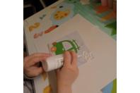 activité du dimanche matin avec du sable et les cartes des 10 doigts - Sable - 10doigts.fr