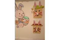 Création de tête de lapin avec ma fille de 4 ans - Pâques, Noël - 10doigts.fr