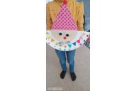 Clown rigolo - Vernis collage papiers, serviettes - 10doigts.fr