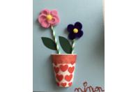 pot de fleurs - Feutrine, feutrage - 10doigts.fr