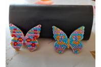 Papillons scintillants - Créations d'enfant - 10doigts.fr