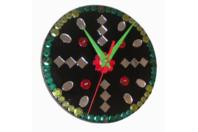 Horloge - Céramique, verre - 10doigts.fr