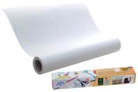 Rouleau de papier adhésif repositionnable blanc - 6 mètres - Supports blancs - 10doigts.fr