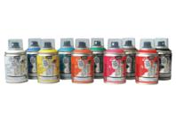 Peinture aérosol DECOSPRAY 100 ml - 10 couleurs - Peinture en aérosol - 10doigts.fr
