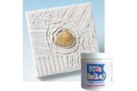 Pâte relief blanche effet 3D - 250 gr - Joint et outils pour mosaïques - 10doigts.fr
