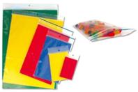 Pochettes en plastique transparent à fermeture zip - Lot de 100 - Plastique Transparent - 10doigts.fr