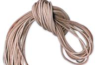 Lanières de 1 m en cuir brut - Lot de 10 - Cordons en cuir et suédine - 10doigts.fr