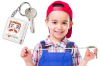 Porte-clés mètre à personnaliser - Porte-clés pour bijoux - 10doigts.fr