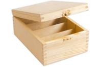 Boîte à photos en bois - Boîtes et coffrets - 10doigts.fr